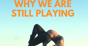 Acroyoga while Pregnant Series: Why we are still playing