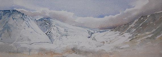 Carneddau, Snowdonia. Print