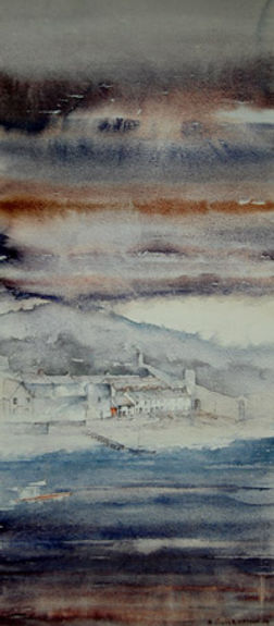 Conwy. Print