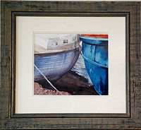 Boats, Conwy. Limited Editio  print by Gary Griffiths