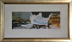 Framed print Llagrannog by Gary Griffiths