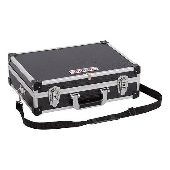 """מזודת אלומיניום X300X125 420 לכלים מ""""מ שחור"""