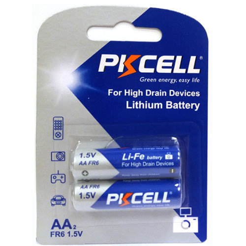 סוללת ליטיום 2 יחידה - AA 1.5V