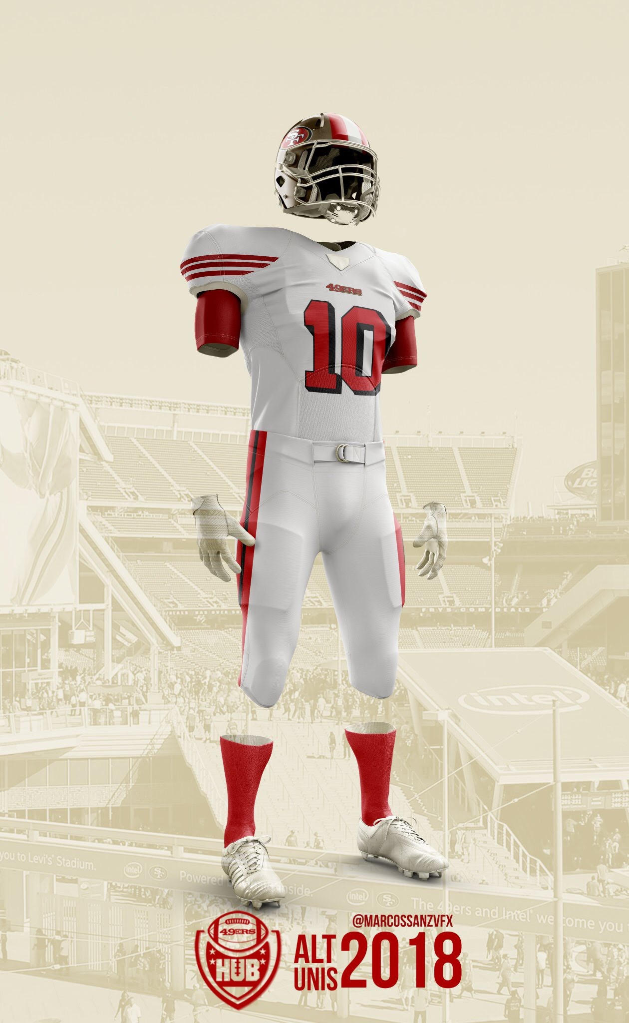 info for 3e419 4d1ee Potential Look at New 49ers Uniforms