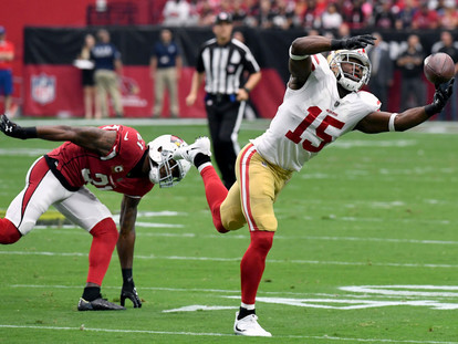 Which 49ers Receivers Have the Potential for 1,000 Yards?