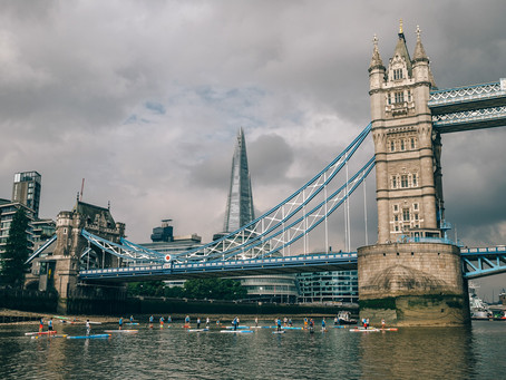 1# World Tour - Racing down the River Thames