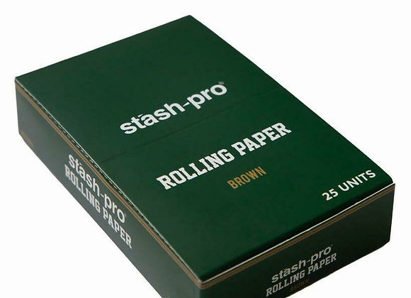 Rolling Paper 1/4 - 25 pack | Brown
