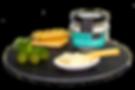 crema de queso de cabra, queso fundido para untar