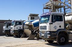 Planta de Hormigones y transportes, separadores, graneles