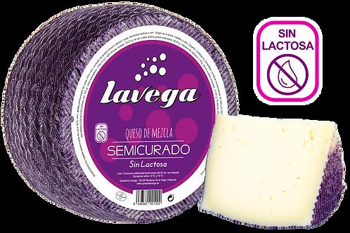 Queso de MEZCLA SEMICURADO, Sin Lactosa