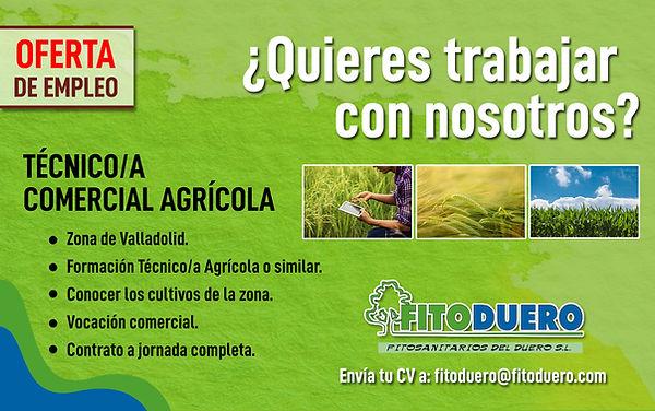 oferta de empleo tecnico agricola