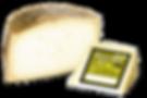 Queso de oveja curado elaborado con leche cruda