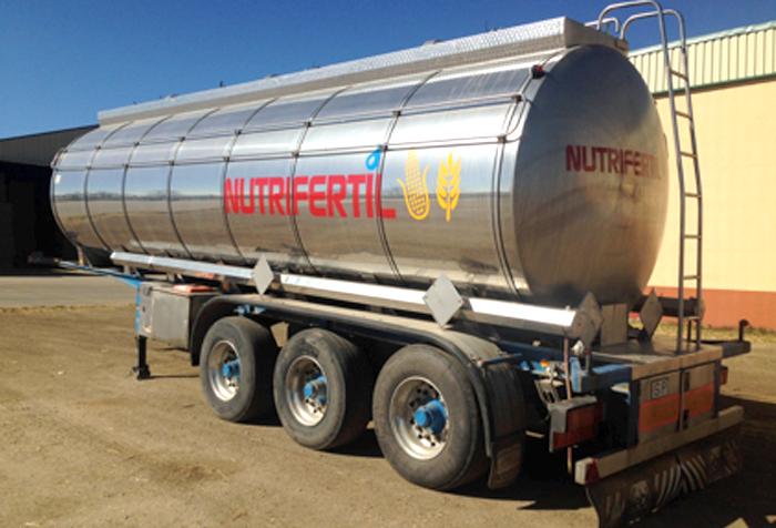 Cisterna/Transporte de líquidos