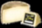 Queso de oveja viejo elaborado con leche cruda