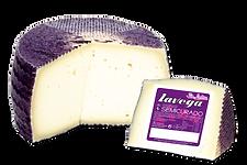 queso de mezcla de vaca y oveja sin lactosa semicurado lavega