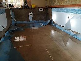 Indoor swimming pool refurbishment