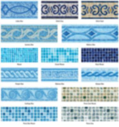 Prefabricated Liner Tilebands