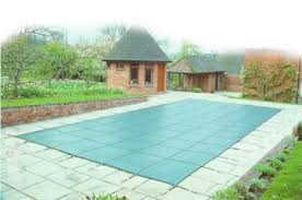 winter debris cover to protect your swimming pool