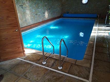 Refurbished indoor swimming pool in Worcestershire