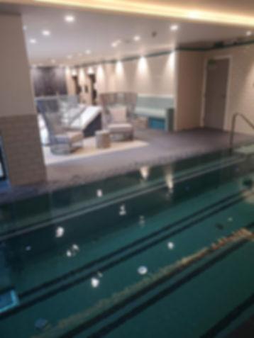 Exclusive luxury spa, sauna & steam room