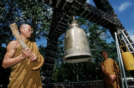 Thailand : Buddha in a bottle
