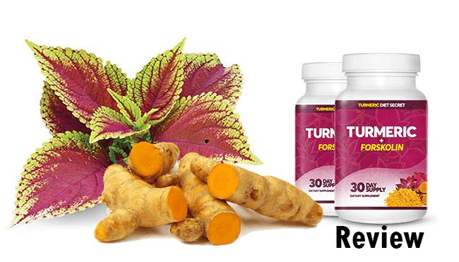 turmeric and forskolin diet pills reviews
