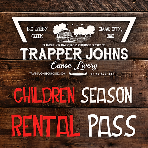 Children 6-12 Years Season Rental Pass