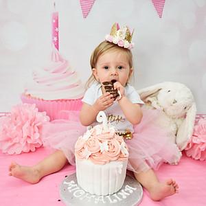 Michalina's First Birthday Cake Smash