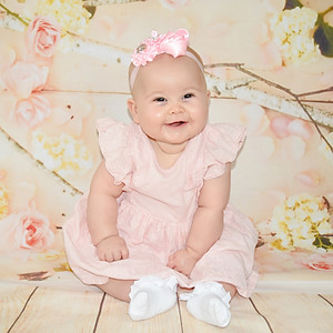 Olivia at 6 Months