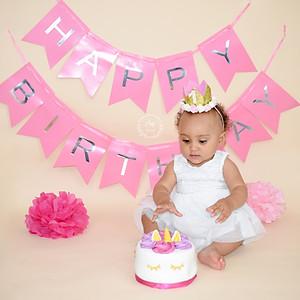 Eden's 1st Birthday Cake Smash