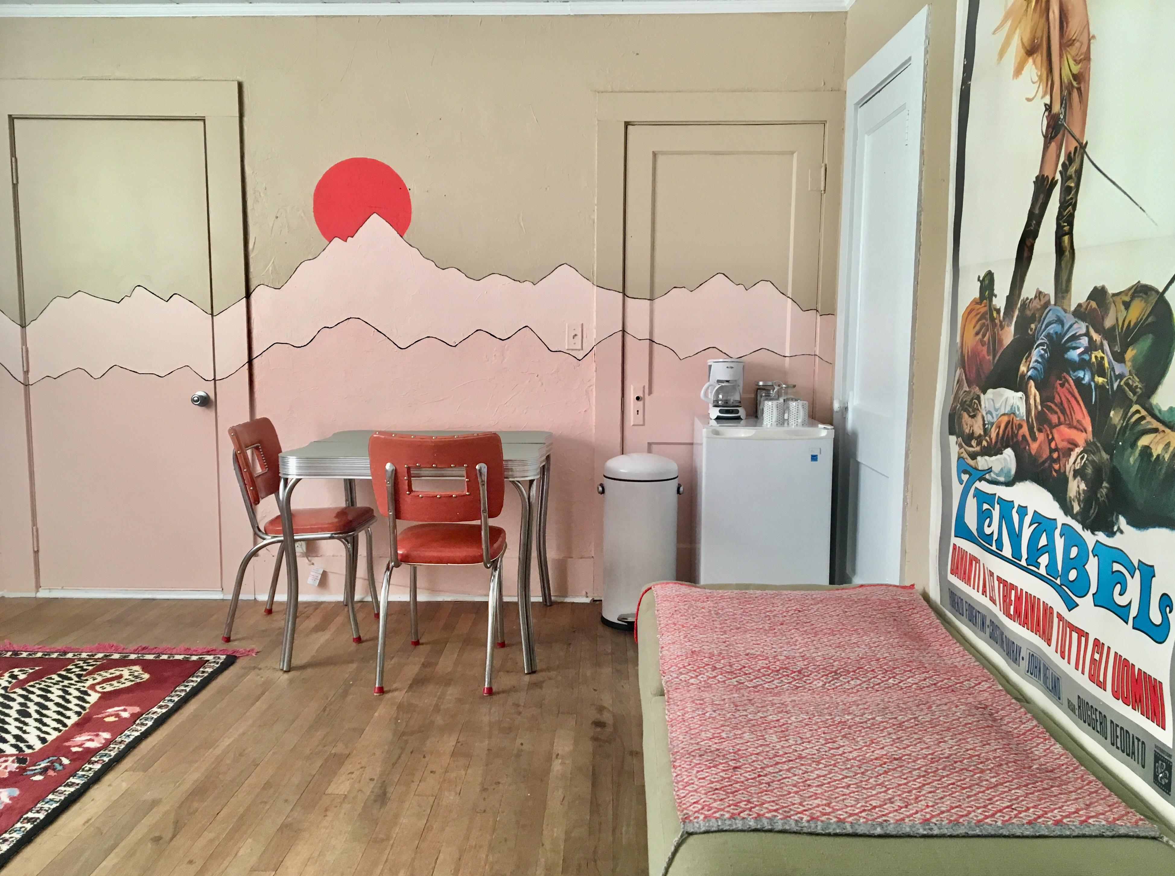 Zen table coffee lounge