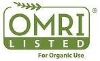 OMRI Listed Logo