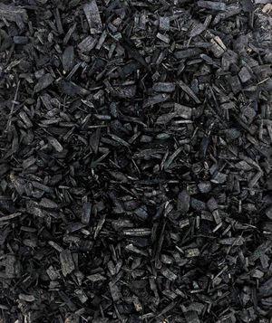 Premium Black Colored Mulch