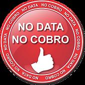 NO DATA NO COBRO