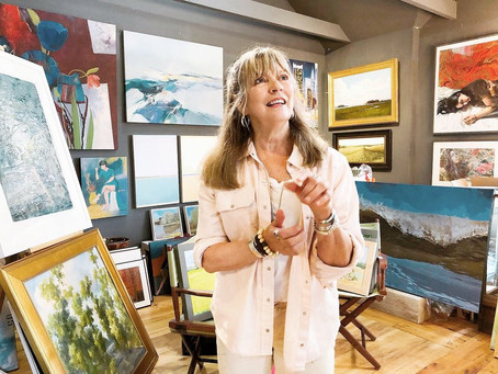 Mary Cantone - Owner of the William Ris Gallery