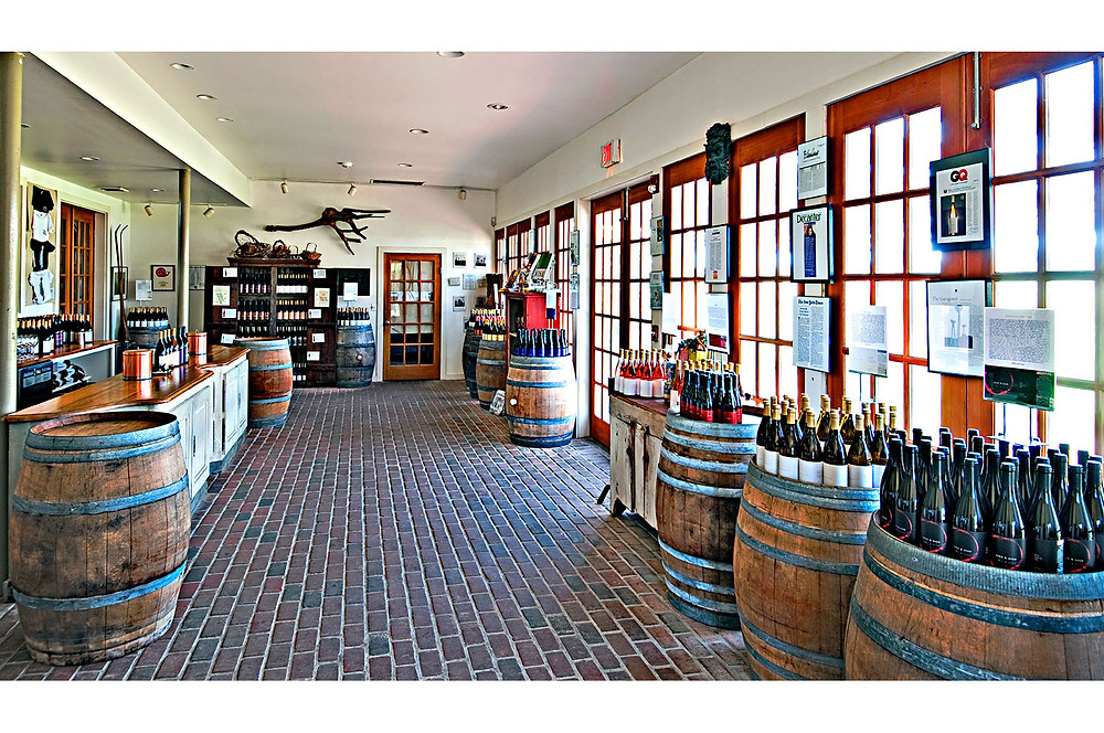 Channing daughters tasting room