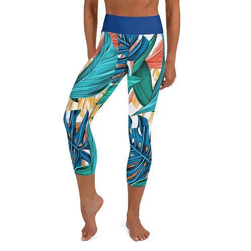 Tahiti Yoga Capri Leggings