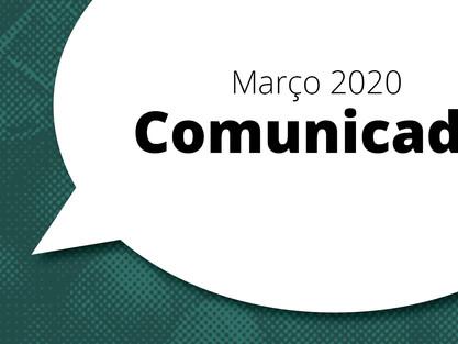 Comunicado - Covid-19