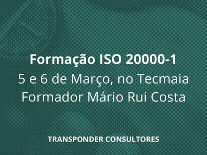 Programa Formação Implementação  ISO/IEC 20000-1