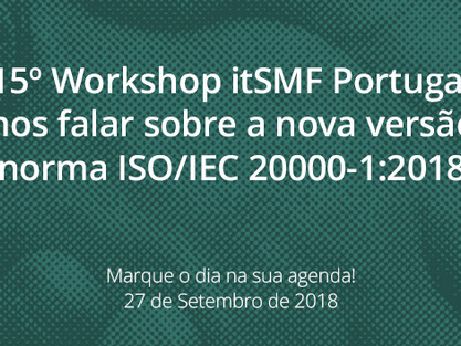 15º Workshop itSMF Portugal