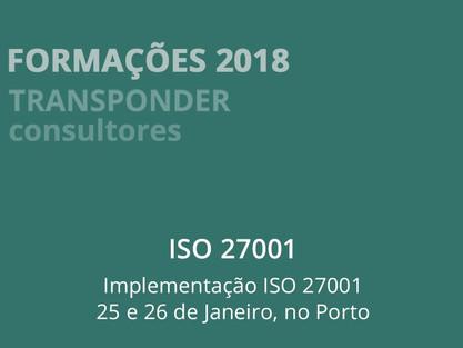 Formação Implementação 27001  Programa