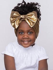 Kids Headband - Dark Gold