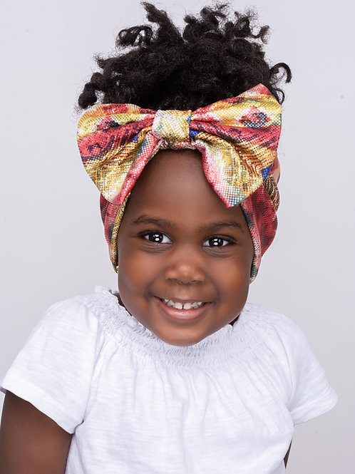 Kids Headband - Splashy Gold