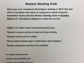 Learn to Skate Event at NSC