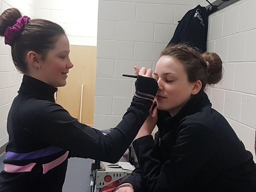 Janae and Chloe - Teamwork!