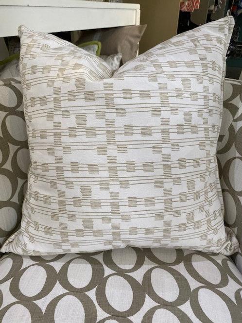 The Barline Cushion- Sage