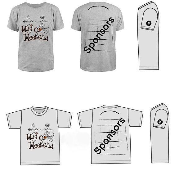 Wag-O-Weekend 2020 t-shirt