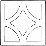 Breeze Block - Style 1680- Diamond