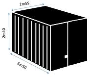abri de jardin container easybox
