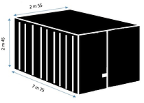 pool house container easybox